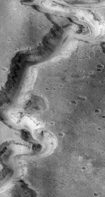 Mars gorge