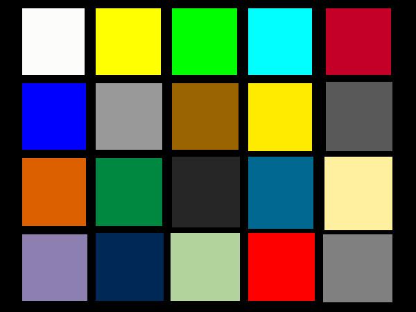 Sample pixels