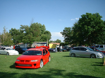 Car Show wideshot