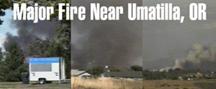 Umatilla Fire Banner